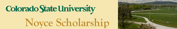 CSU Noyce Scholarship Application